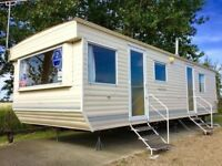 JANUARY STATIC CARAVAN SALE - 2 BED STARTER CARAVAN FOR SALE - FINANCE AVAIL - SITED IN ST OSYTH