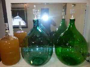Old Crown Mason Jars, Demijohns & Carboys