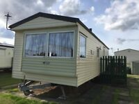 Cheap static caravan on seaside park, right next to the beach/LOW GROUND RENT/Chapel St Leonards