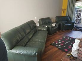 Sofa & 2 chairs - delivery available