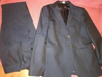 Boys Next Blue 2 piece suit **worn twice**, Age 12