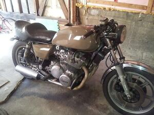 Yamaha Xs1100 Eleven Edition 1981 Style Cafe racer