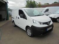 Nissan Nv200 1.5 Dci Acenta Van TWIN SLD DIESEL MANUAL WHITE (2015)