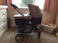 Graco Evo Avent pushchair and carrycot
