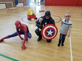 RTS Spiderman and Captain America Lisburn NI / RTS Superhero Girls NI