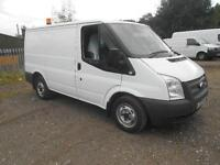 Ford Transit T280 swb Low Roof 100ps DIESEL MANUAL WHITE (2013)