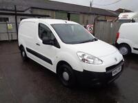 Peugeot Partner 850 Se 1.6 Hdi 92 Van DIESEL MANUAL WHITE (2013)