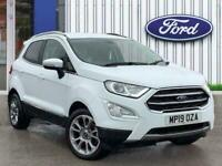 2019 Ford Ecosport 1.0t Ecoboost Gpf Titanium Suv 5dr Petrol Manual s/s 125 Ps H