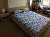 Euro king IKEA bed