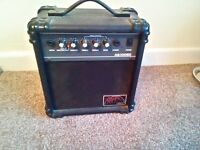 Amp suitable for electric guitar etc