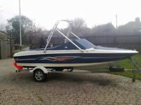 Bayliner 175 XT Bowrider Speedboat & Wakeboard Tower