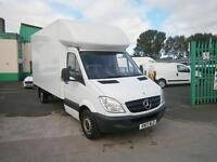 Mercedes-Benz Sprinter 313cdi 13ft Luton 130ps Tail Lift DIESEL MANUAL (2013)