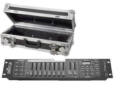Chauvet Obey 10 DMX Lighting Controller Light Desk 128 CH Disco DJ & Flightcase