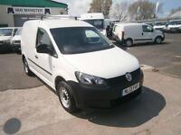Volkswagen Caddy 1.6TDI 75ps Air Con DIESEL MANUAL WHITE (2013)