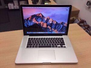 Macbook Pro 15 2.0 Ghz i7 Quad Core 8GB 750GB MS Office 2016**