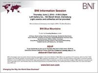 BNI coming to The Blue Mountains, Thornbury, Collingwood