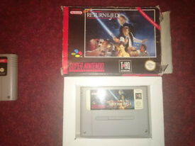 Star Wars Super Nintendo games. Snes!! Nintendo!! Retro!!