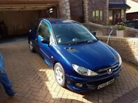 2006 PEUGEOT 206 1.4 LONG MOT BARGAIN PRICE