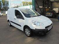 Peugeot Partner 625 1.6 Hdi 75 Professional Van DIESEL MANUAL WHITE (2014)