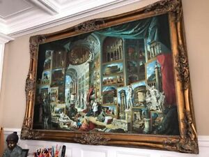 """Painting – reproduction """"Gallery of Views of Ancient Rome"""""""