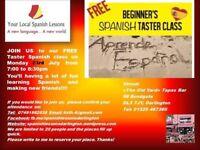 FREE TASTER SPANISH CLASS IN DARLINGTON