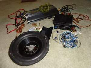 car stereo,amplifier,sub,wires,fuses,fues block all $125 firm