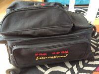 10pin bowling balls and bag