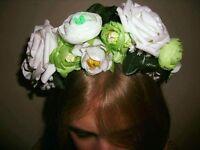 Hand made Hair accessories, flower crown