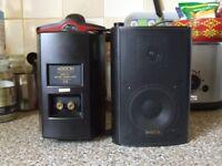 A Pair of Ariston Acoustics MSX-07 Speakers