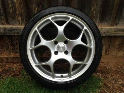 "Set of 17"" mag wheels"