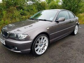 E46 BMW 318Ci **Havannah..Rare Colour**F.S.H**MOT APRIL 18**19 Inch Alloys**Excellent Example