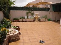 House to let in seaside village Spain