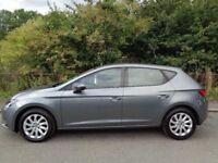 2014 SEAT LEON SE 1.6 TDI, ROAD TAX £0, MOT 12 MONTHS, SERVICE HISTORY
