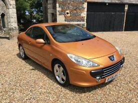 2006 Peugeot 307 Convertible 180BHP 2.0l Petrol Manual