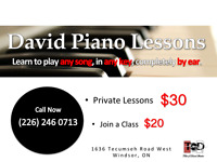Play-By-Ear Piano Lessons