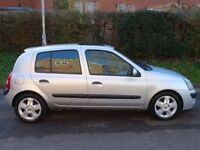 2004 Renault Clio 1.1 Manual 5Doors With Long MOT PX Welcome