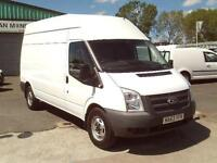 Ford Transit T350 lwb High Roof 100ps DIESEL MANUAL WHITE (2013)