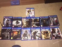 Playstation PS4 1TB - 13 GAMES - 3 CONTROLLERS AND COOLING DOCK