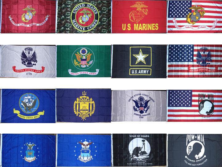 army usmc pow flag 3x5ft better quality