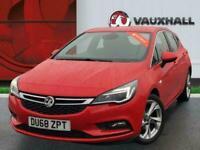 2018 Vauxhall Astra 1.4i Turbo Sri Hatchback 5dr Petrol 150 Ps Hatchback PETROL