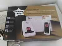 Tommee Tippee digital movement and sound monitor 1200