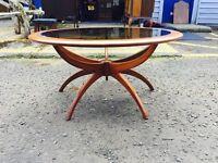 Stunning Rare Mid Century G Plan Spider Coffee Table