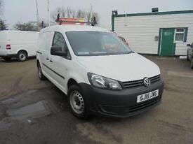 Volkswagen Caddy C20 1.6 Tdi 102Ps Startline Van SLD DIESEL MANUAL WHITE (2015)