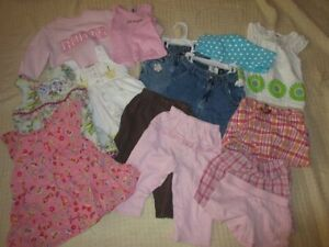 Summer Girl Clothing Lot, Size 12-18 monthsl