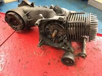 Piaggio Typhoon / Aprilia SR / Gilera Runner 125 2 stroke Rolling nut engine