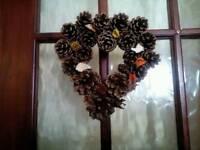 Pinecone Wreaths & Vases
