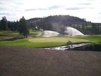 Experienced Finisher for Golf Course Construction