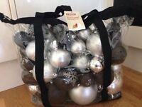 Big bag of decorations Christmas