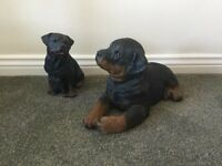 Sandicast Rottweiler ornaments