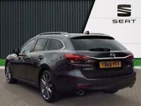2018 Mazda Mazda6 2.2 Skyactiv D Sport Nav Plus Tourer 5dr Diesel Auto s/s 184 P